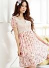 Легкое романтическое платье на резинке