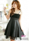 Коктейльное платье с розами
